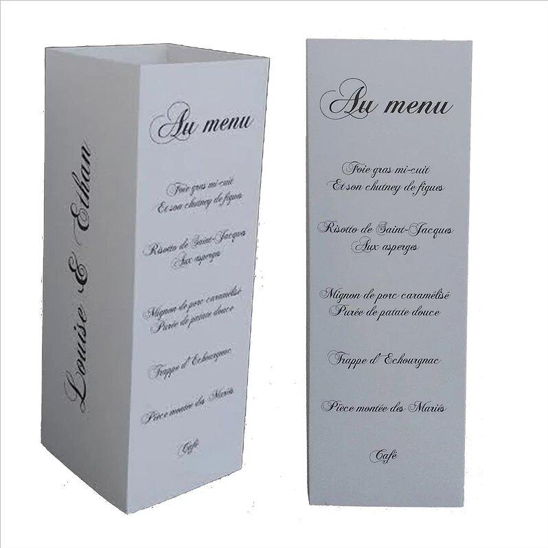 Debie Dreams ORGANISATION MARIAGE DORDOGNE Menu 4 Côtés