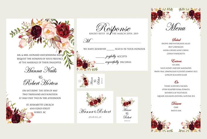 Debie Dreams ORGANISATION MARIAGE DORDOGNE Motifs Floraux 7