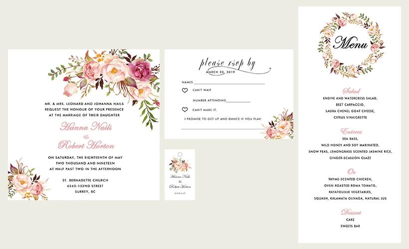 Debie Dreams ORGANISATION MARIAGE DORDOGNE Motifs Floraux 9
