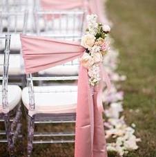 Debie Dreams ORGANISATION MARIAGE DORDOGNE Ruban Chaise Satin